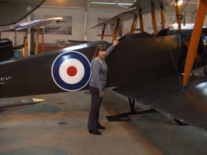 Diana with the Avro504K