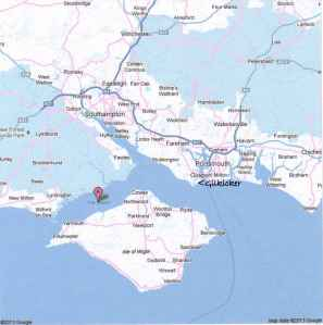 Solent map googleGk