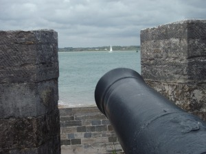 View from Calshot Castle