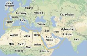 Solent Google Map Karachi1