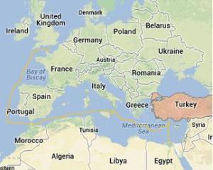 Solent Google Maps Turkey Port Said