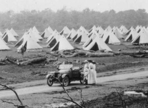 Haynes Park Army Camp 1915