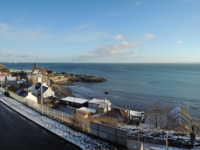 Snow at Kinghorn